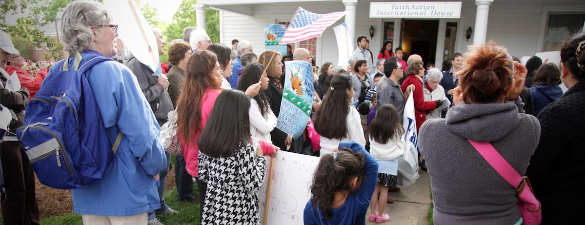 FaithAction Immigration Rally